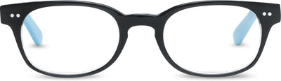 Addis Black-Crystal/Light Blue | Optical Frame Only