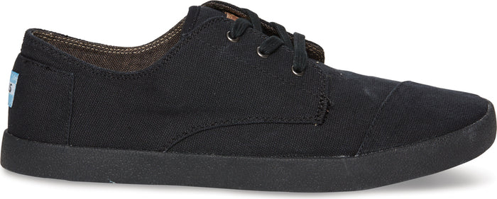 Black on Black Canvas Women's Classic Paseos