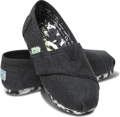 Black Recyclable Tiny TOMS Classics
