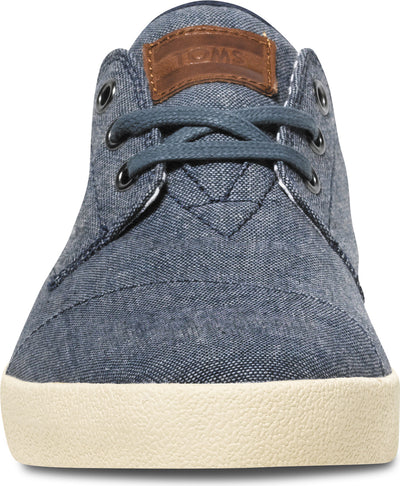 Blue Chambray Men's Classic Paseo Sneakers