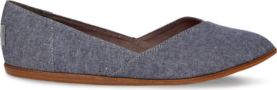 Blue Chambray Women's Jutti Flat