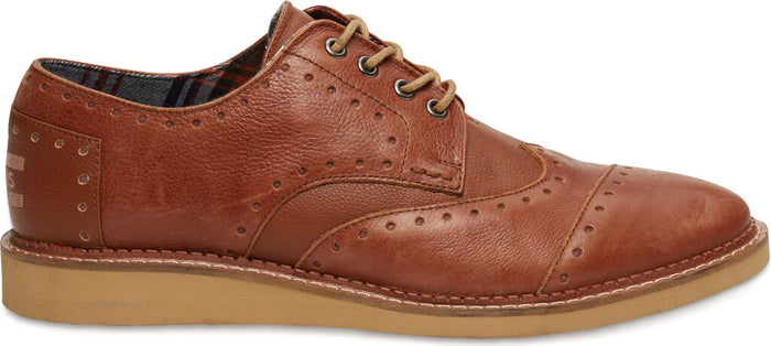 Brown Leather Men's Classic Brogue