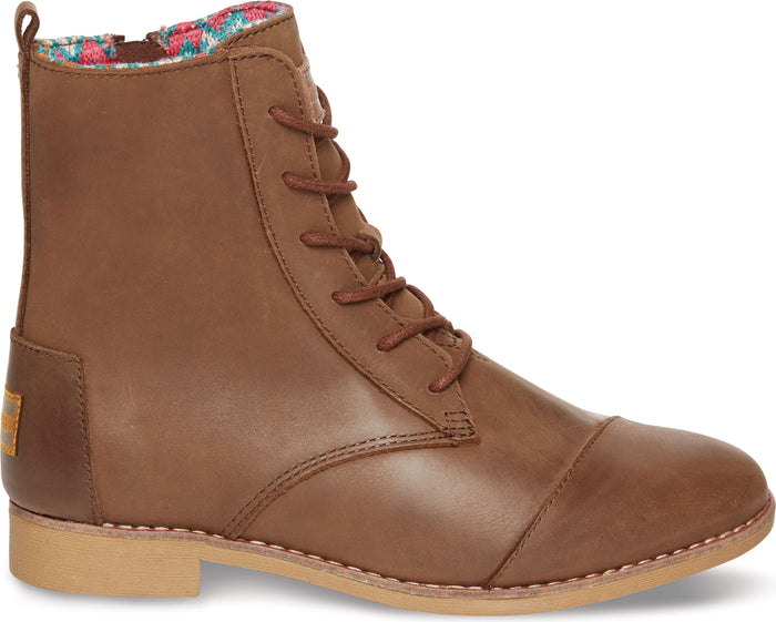 Brown Leather Women's Alpa Boot
