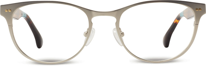 Clementine Satin Silver/Tortoise | Optical Frame Only