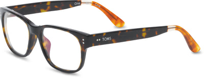 Clarke Dark Tort/Honey Tort | Optical Frame Only