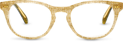 Isa Glitter Burlap/Hunter Green | Optical Frame Only