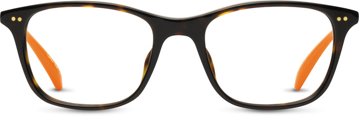Jenkins Dark Tortoise/Burnt Orange | Optical Frame Only