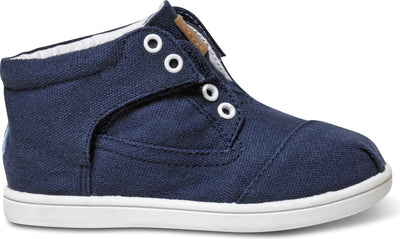 Navy Canvas Tiny TOMS Classic Botas