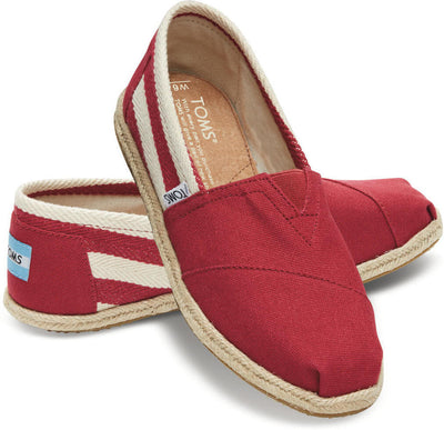 Red Stripe Women's University Classics