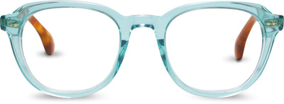 Rooper Teal Crystal/Dark Tortoise | Optical Frame Only