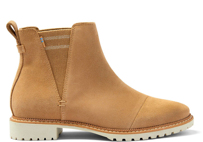 Desert Tan Suede Women's Cleo Boot