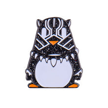 Black Panther Penguin Enamel Pin