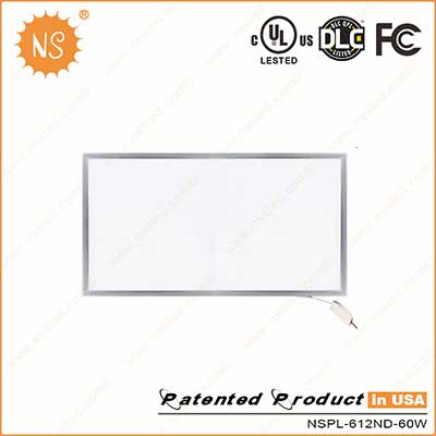 60W LED Flat Panel Light - Commercial Lighting Manufacturer