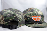 Fly Definition Tiger Camo 5 Panel Hat