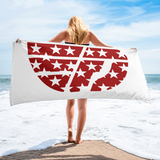 Fly Definition Star Logo Beach Towel
