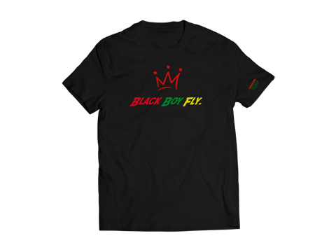 Fly Definition BHM Black Boy Fly T-Shirt