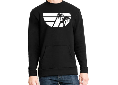 Fly Definition Paradise Front Pocket Crewneck