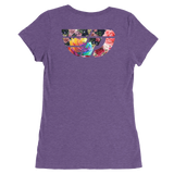 Fly Definition Women's Rose Floral Tee