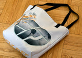 Fly Definition Royal Tote Bag