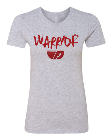 Fly Definition Womens Warrior Boyfriend Tee
