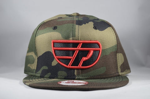Fly Definition x New Era Woodland Camo Snap Back