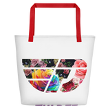 Fly Definition Floral Tote Bag