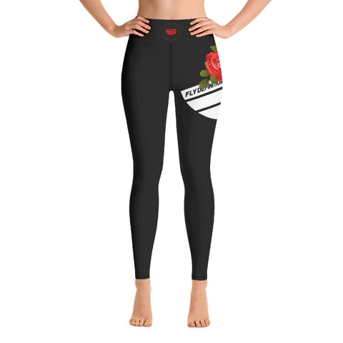 Fly Definition Women's Rose High Waisted Leggings