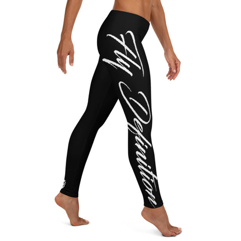 Fly Definition Script Leggings