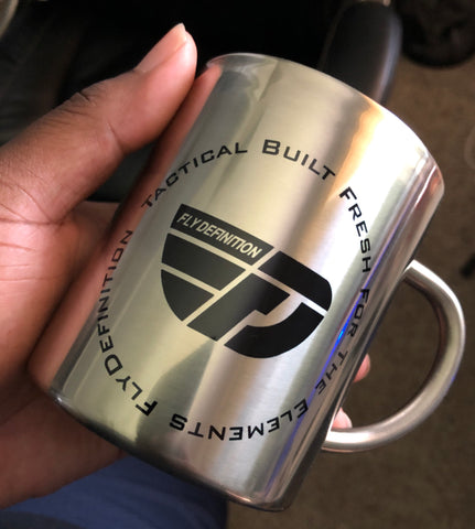 Fly Definition Tactical Stainless Steel Coffee Mug