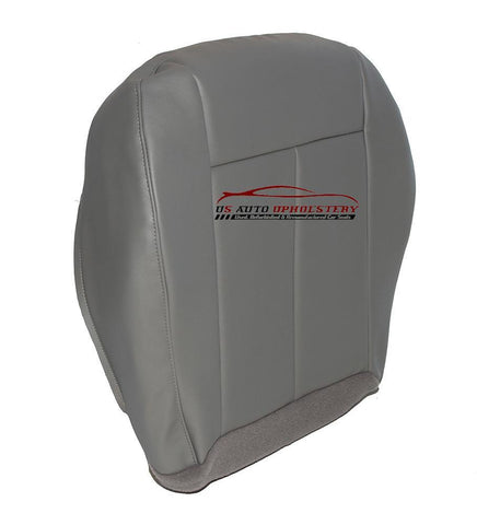 2005-2010 Chrysler 300 200 Driver Bottom Vinyl Replacement Seat Cover Slate Gray - usautoupholstery
