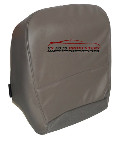 2008 Ford F-350 XL Work Truck Gas Diesel Driver Bottom Vinyl Seat Cover Gray - usautoupholstery