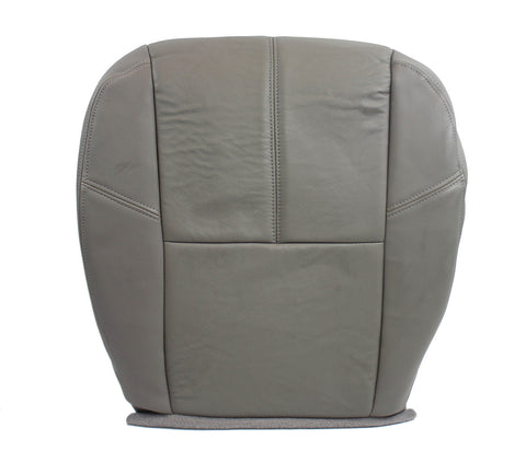 07-11 Chevrolet 2500 3500 HD 4X4 Diesel Chevy LT* Driver LEATHER Seat Cover GRAY - usautoupholstery