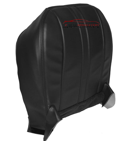 2011 2012 2013 Chevy Express Van Driver Side Bottom Vinyl Seat Cover Dark Gray - usautoupholstery