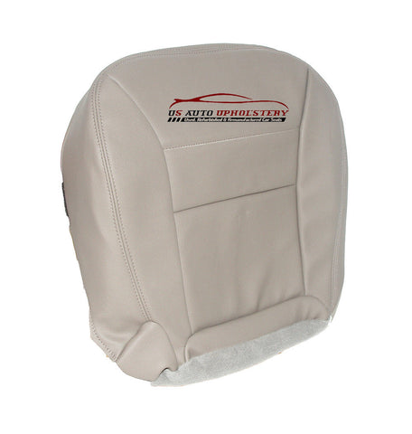 02 Ford Escape Driver Side Bottom Synthetic Leather Seat Cover Tan - usautoupholstery