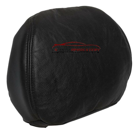 2004 Hummer H2 Head Rest OEM Replacement Leather Cover Black - usautoupholstery