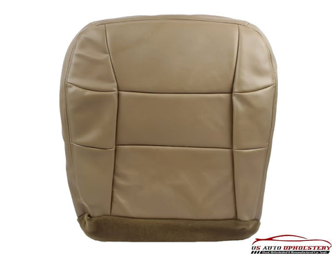 97 98 99 Lincoln Navigator 4X4 Bucket Driver Side Bottom LEATHER Seat Cover TAN - usautoupholstery