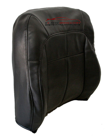 1999-2004 Jeep Grand Cherokee SUV Driver Lean Back Vinyl Seat Cover Dark Gray - usautoupholstery