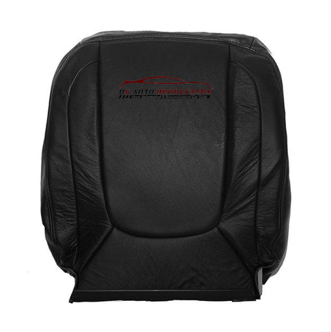 2004 2005 Dodge Ram 2500 Laramie DRIVER Lean Back Leather Seat Cover Dark Gray - usautoupholstery