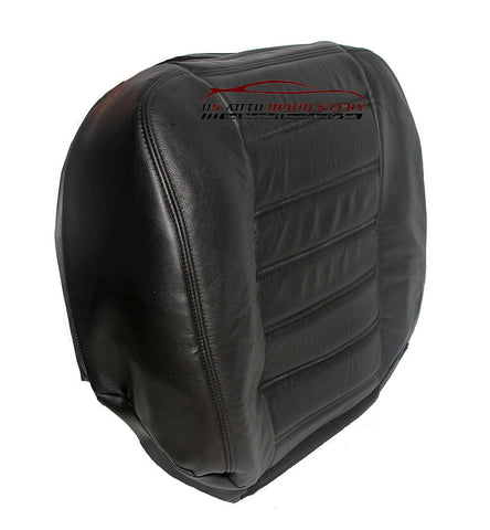 2003-2007 - Hummer H2 - Driver Bottom Replacement Leather Seat Cover - Black - usautoupholstery