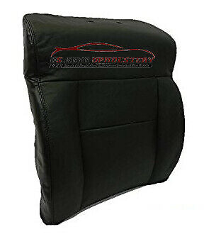 2004 Ford F-150 Lariat 4x4 Super-Cab *Driver Lean Back Leather Seat Cover BLACK - usautoupholstery
