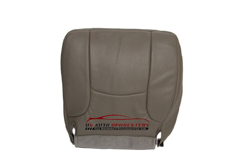 2002 Dodge Ram Driver Side Bottom Replacement Vinyl Seat Cover Gray - usautoupholstery