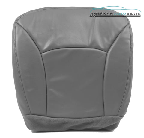 Ford E350 Econoline Extended Cargo Van XL-Driver Bottom Seat Cover GRAY - usautoupholstery