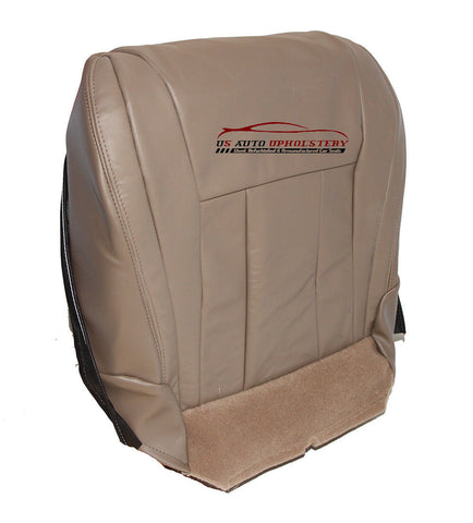 1996-2002 Toyota 4Runner Passenger Bottom Replacement Leather Seat Cover Tan - usautoupholstery