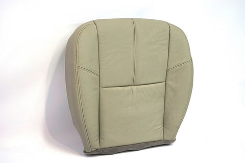 2007-2013 GMC Yukon 2500 XL SLT 4X4 *Driver Side Bottom LEATHER Seat Cover Gray - usautoupholstery