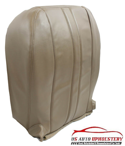 1997 Chevy Express 1500 2500 Van Driver Side Bottom Vinyl Seat Cover Tan - usautoupholstery