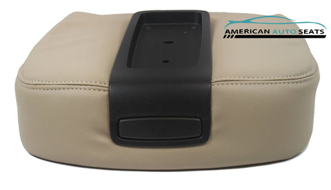 07 08 09 10 Chevy Suburban -Center Console Storage Compartment Lid Cover TAN - usautoupholstery