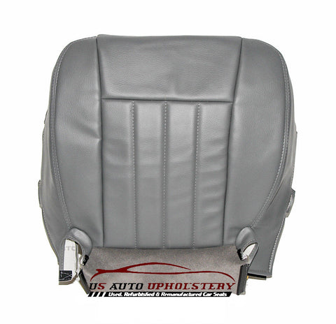 2006-2009 Dodge Driver Side Bottom Synthetic Leather Replacement Seat Cover GRAY - usautoupholstery