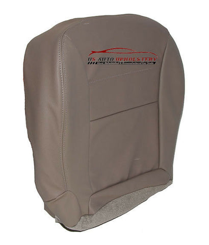 2001-2004 Ford Escape Passenger Side Bottom Synthetic Leather Seat Cover Gray - usautoupholstery
