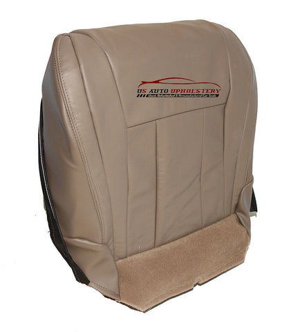 96-02 Toyota 4Runner Driver Side Bottom Replacement Leather Seat Cover Tan - usautoupholstery