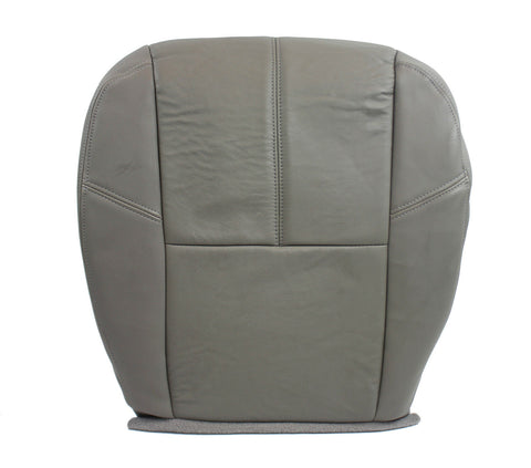 07-12 Chevrolet 2500 3500 HD 4X4 Diesel Chevy LT* Driver LEATHER Seat Cover GRAY - usautoupholstery